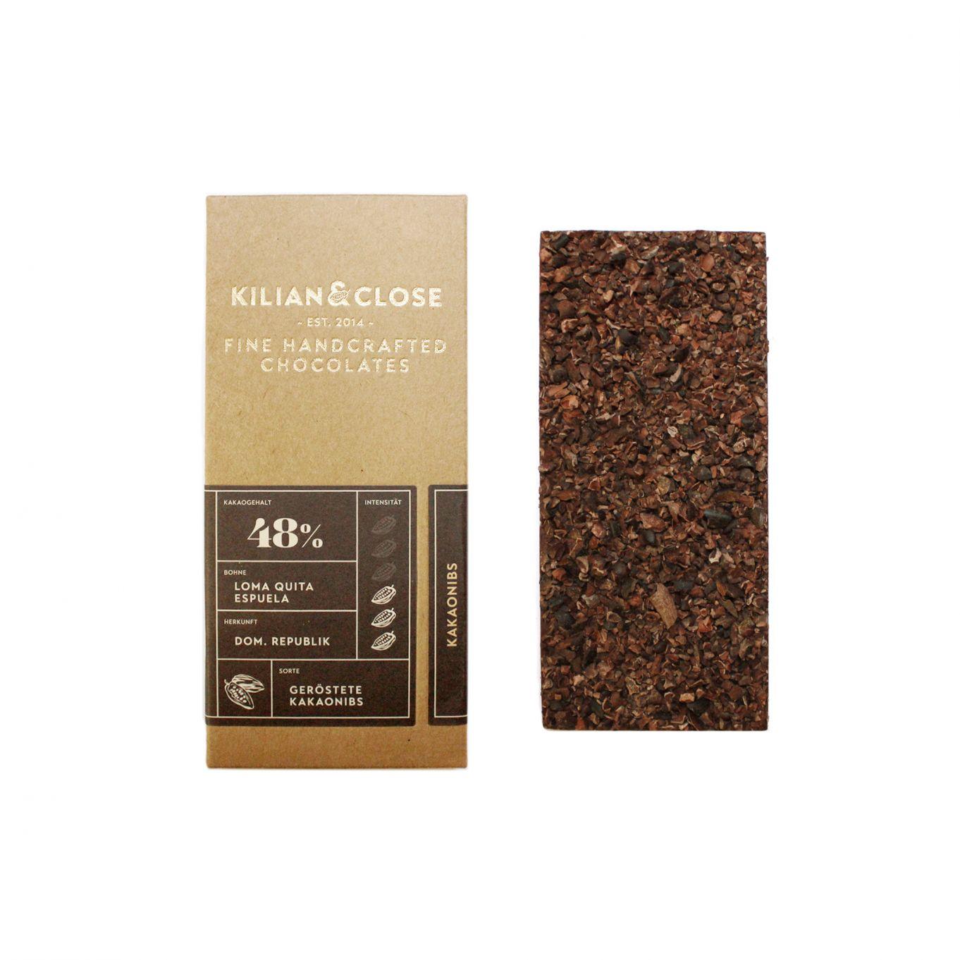 Geröstete Kakaonibs
