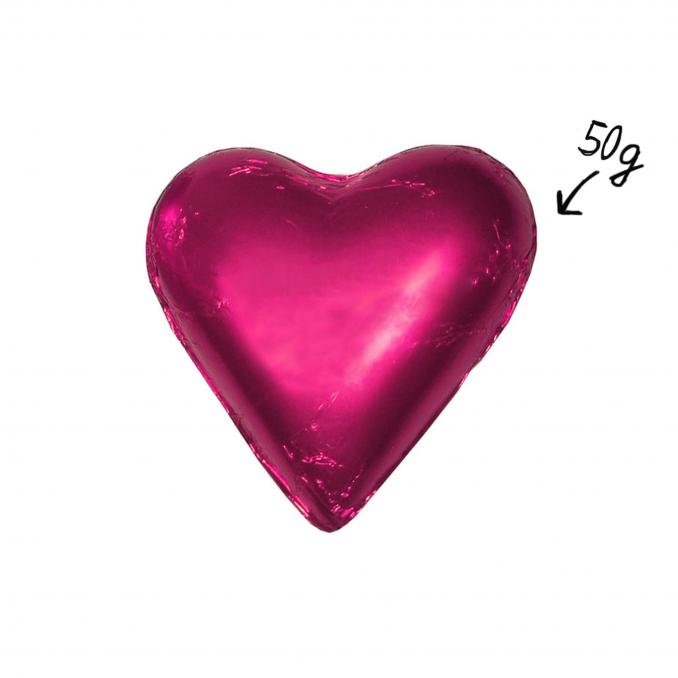 Herz 50g Pink
