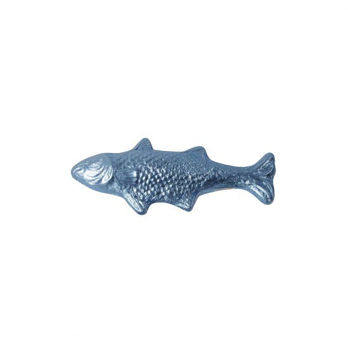 Grosser Schokofisch Eisblau