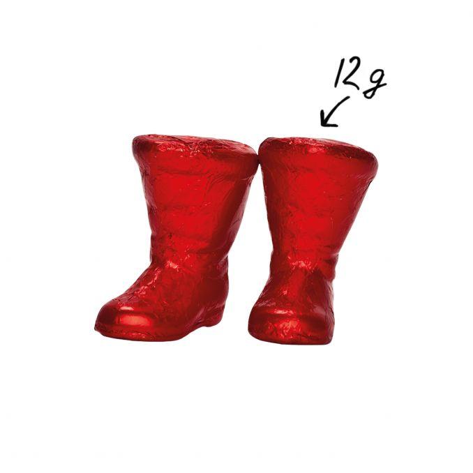 Nikolausstiefel Rot