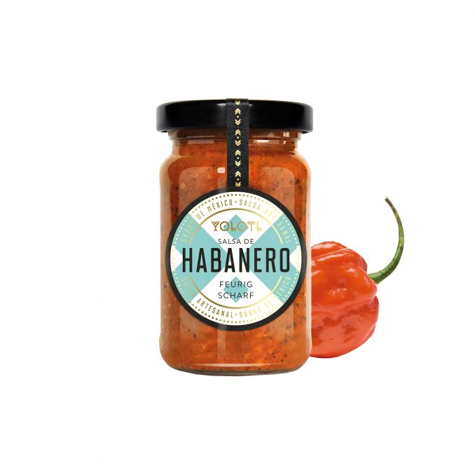 Salsa de Habanero 105ml