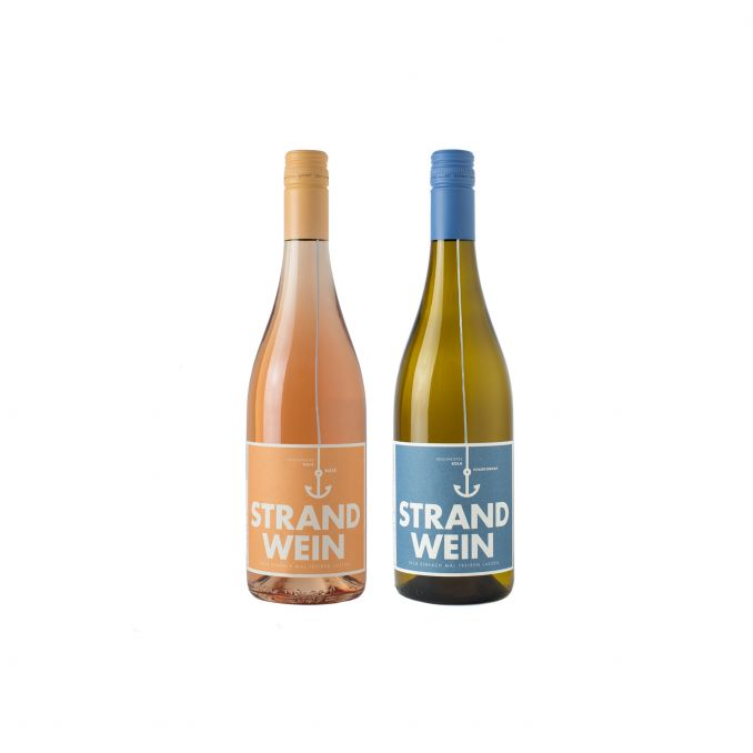 Strandwein zu Zweit