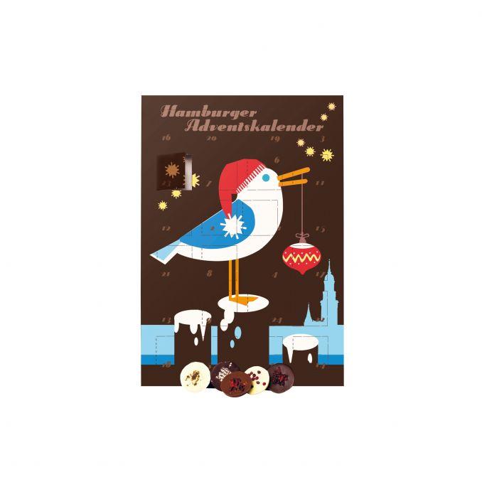 Hamburger Adventskalender Möwe
