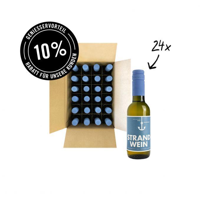 Strandwein Weiß 0,25l 24er