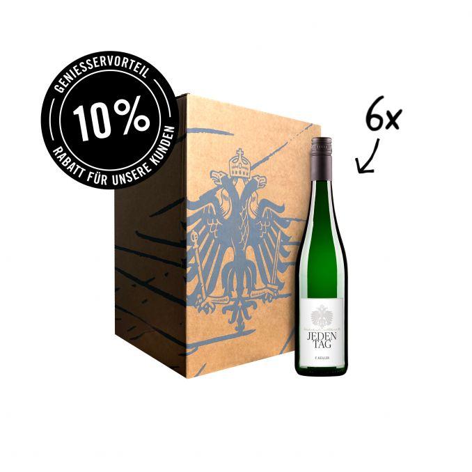 6 x Jeden Tag Weisswein