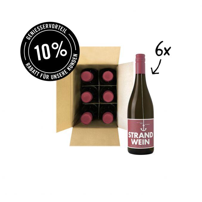 Strandwein Rot - 6er Karton