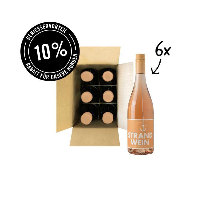 Strandwein Rosé - 6er Karton
