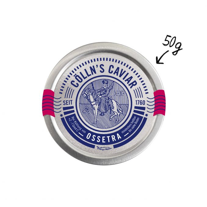 Cölln's Ossetra Caviar 50g
