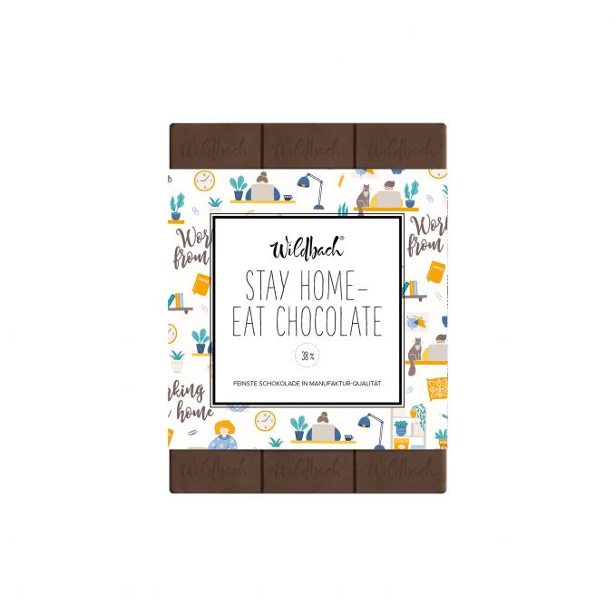 Stay Home - Eat Chocolate